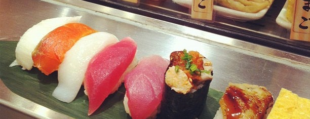 Uogashi Nihon-ichi is one of The 15 Best Places for Sushi in Tokyo.