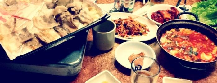 나리의 집 is one of Itaewon food.