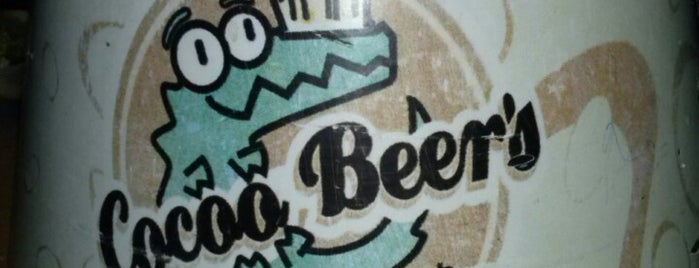 Cocoo Beer's is one of cotorreo.
