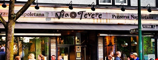 Via Tevere is one of Vancouver.