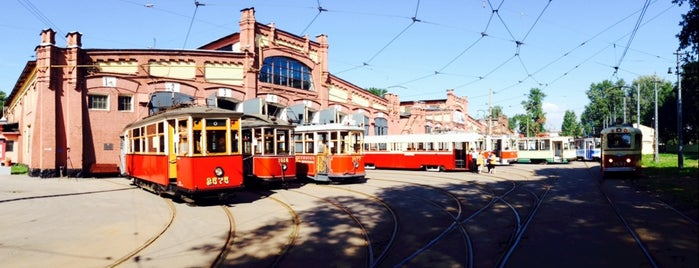 Museum of Electrical Transport is one of СПб Art.