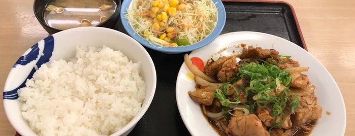 Matsuya is one of 立ち寄り先.