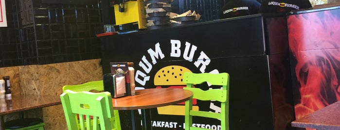 LOQUM BURGER is one of Istanbul - Cafe&Restaurant.
