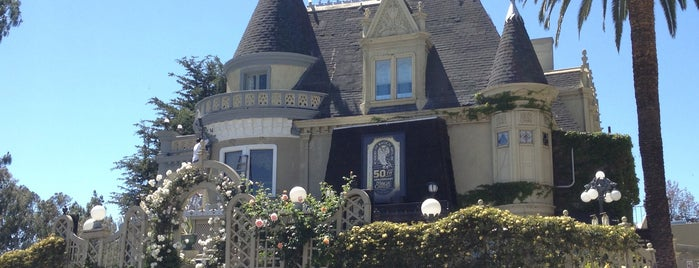 The Magic Castle is one of Top 10 dinner spots in Los Angeles, CA.