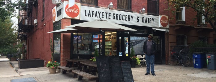 Lafayette Grocery & Deli is one of New York.