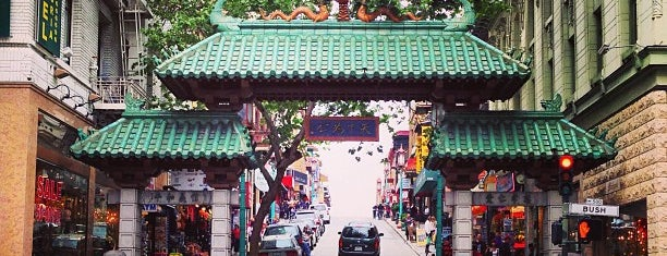 Chinatown Gate is one of San Francisco - May 2017.