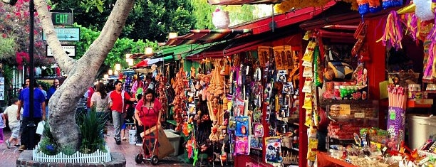 Olvera Street is one of DOWNTOWN.