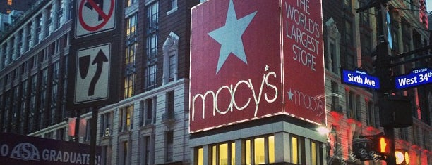 Macy's is one of Coffee Places NYC.