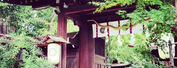 梨木神社 is one of 気になるべニューちゃん 関西版.