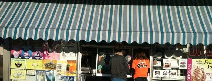 Curly's Ice Cream & Frozen Yogurt is one of NJ To Do.