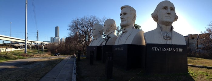 American Statesmanship Park is one of Roadside Discoveries.
