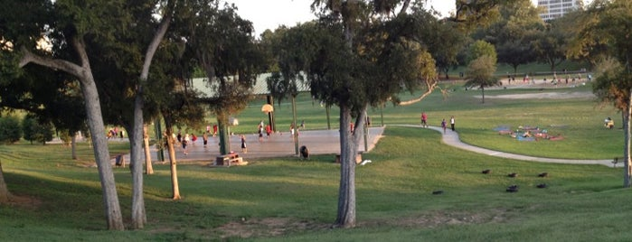 Spotts Park is one of Houston's Best Great Outdoors - 2012.