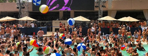 Wet Republic Ultra Pool is one of @MJVegas, Vegas Life Top 100.