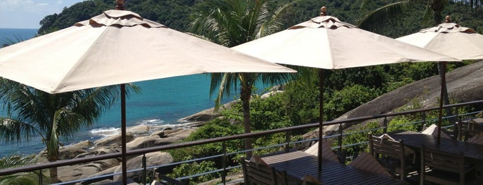 The Cliff Bar & Grill is one of koh samui.