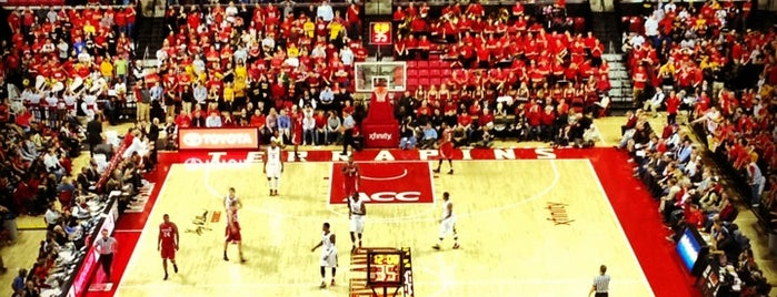 XFINITY Center is one of College Basketball Venues.