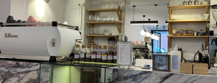 Montag Coffee Roasters is one of İstanbul Kahve.