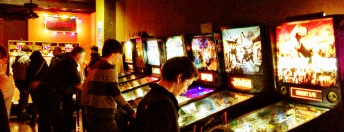 Orbit Pinball Lounge is one of St. Louis.