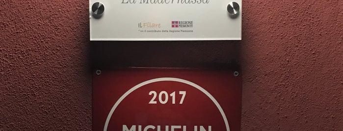 Osteria La Madernassa is one of 2018_daprovare.