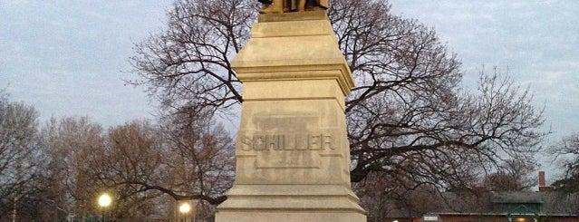 Schiller Park is one of Columbus Area Parks & Trails.
