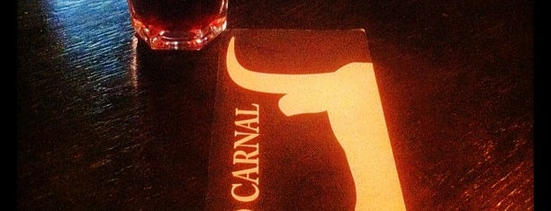 Pecado Carnal is one of madrid. Beber y comer.