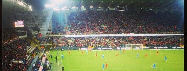 Jan Breydel Stadium is one of Jupiler Pro League and Belgacom League - 2013-2014.