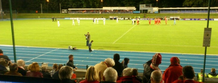 Stade Fallonstadion is one of Jupiler Pro League and Belgacom League - 2013-2014.