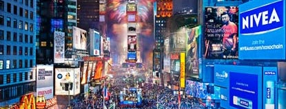 Times Square is one of Places I have been to.