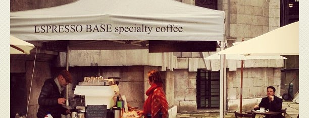 Espresso Base is one of Specialty Coffee Shops Part 2 (London).