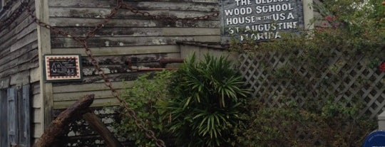 Oldest Wooden Schoolhouse is one of St. Augustine Tourist Spots to See.
