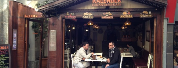Kalender Lokanta ve Kafe is one of Trabzon <3.