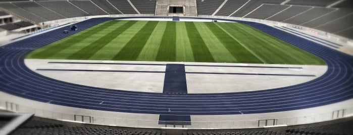 Olympiastadion is one of Berlin, Germany.