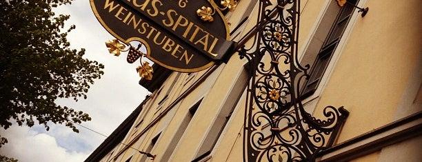 Weinstuben Juliusspital is one of Restaurants.