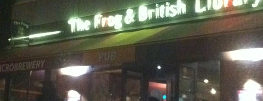 The Frog & British Library is one of Bars du Jeudi.