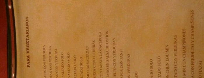 Restaurant Oriental Wa Lok is one of Always Gourmet PERU, comer em Lima.