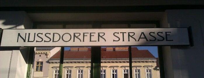 U Nußdorfer Straße is one of viyana.