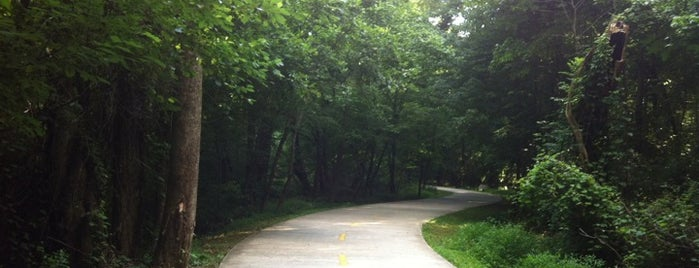 Big Creek Greenway is one of Born to Run.