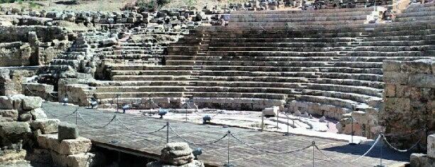 Roman Theatre is one of Rincones de Málaga.