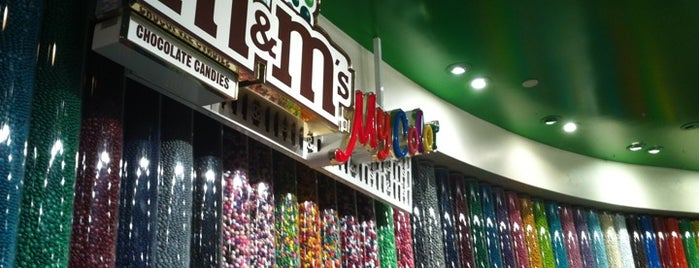 M&M's World is one of Las Vegas.