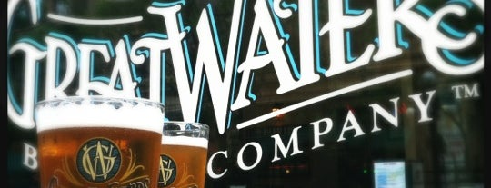 Great Waters Brewing Company is one of Minnesota Breweries and Brewpubs.