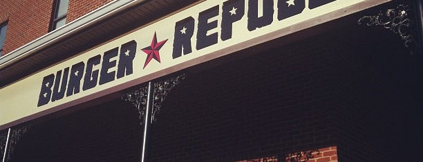 Burger Republic is one of Places to eat.