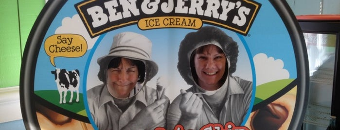 Ben & Jerry's is one of New Hampshire.