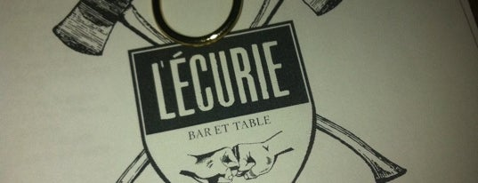 L'Écurie Bar et Table is one of Montreal City Guide.