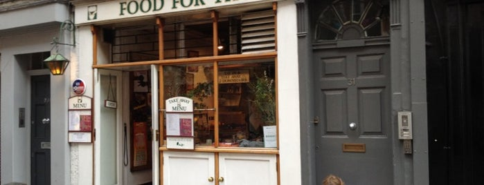 Food For Thought is one of LDN Foodies.