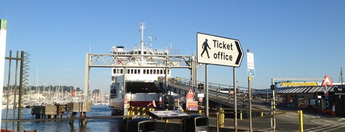 Red Funnel Ferry Terminal is one of Frequent.