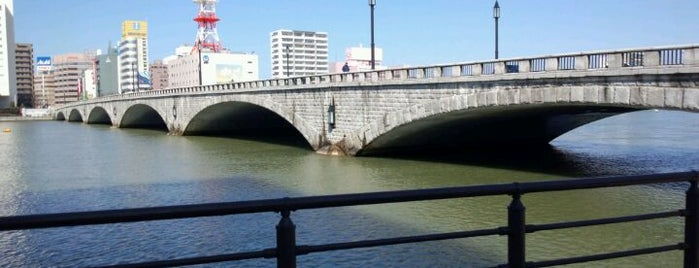 Bandai Bridge is one of 越後國.