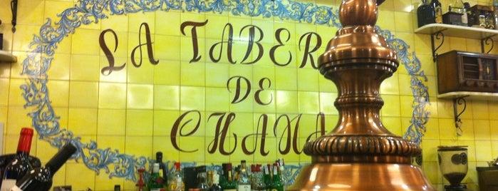 La Taberna de Chana is one of Madrid: de Tapas, Tabernas y +.