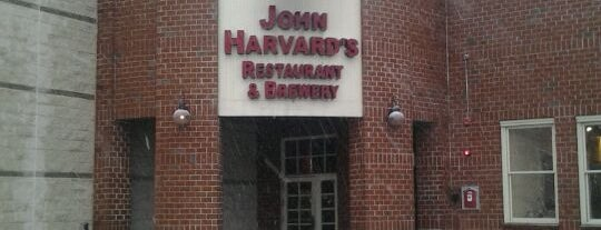 John Harvard's Brewery & Ale House is one of ** my list **.