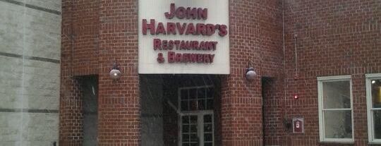 John Harvard's Brewery & Ale House is one of Watering Holes.