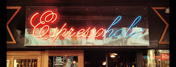 Espressoholic is one of Places with Personality in Wellington.
