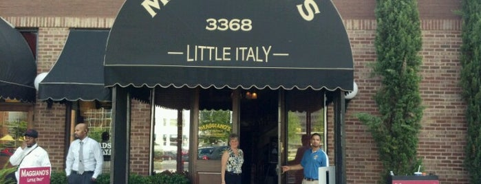 Maggiano's Little Italy is one of WKJ's Favorite ATL Resturants.